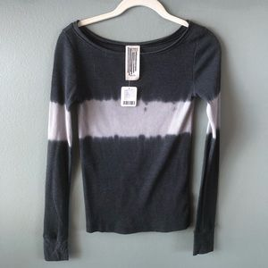 Free People tie dye thermal
